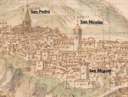 Las iglesias de Cuenca en la época de Anton van den Wyngaerde